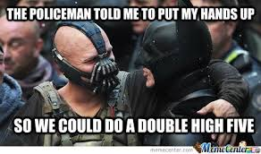 New Meme! Misunderstood Friendly Bane by deadpool5405 - Meme Center via Relatably.com