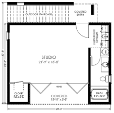 Guest House Floor Plan Open Floor Plans Small Home  small studio    Guest House Floor Plan Open Floor Plans Small Home