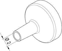 0472AR, <b>Насадка</b> (сопло) 2.0мм для <b>термофена</b> i-TOOL AIR S ...
