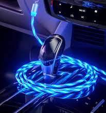 LED Magnetic USB Cable <b>Fast</b> Charging for Renault <b>duster</b> megane ...