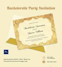 bachelorette invitation psd vector eps ai customisable bachelorette party invitation template