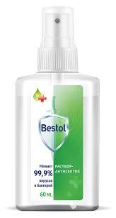 Купить <b>Спрей для рук</b> Bestol <b>антисептический</b>, 60 мл с доставкой ...