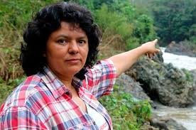 Resultado de imagen para Berta Cáceres Flores