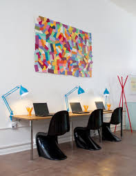 multicolored chips paper wall art art for the office wall