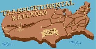 「the transcontinental railroad plan」の画像検索結果