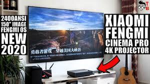 Xiaomi <b>Fengmi Laser Projector TV</b> 4K Cinema Pro PREVIEW: NEW ...
