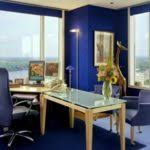 best colors for home office with beautiful blue color ideas that combined with white wooden window best colors for home office