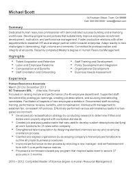 professional human resources associate templates to showcase your resume templates human resources associate