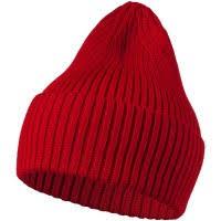 Заказать <b>Шапка Stout</b>, <b>красная</b> с логотипом   на заказ   Бизон