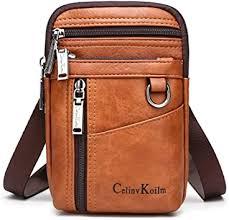 Amazon.com   【<b>Celinv Koilm</b>】Multifunctional Split Leather Mini ...
