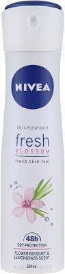 Nivea Anti-Respirant Fresh Blossom Fresh Skin Feel <b>Flower</b> ...