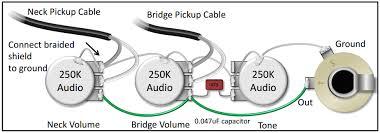 wiring diagram single humbucker volume wiring wiring diagram for single pickup volume tone jodebal com on wiring diagram single humbucker volume