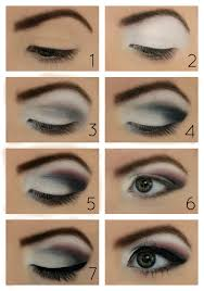 brown eyes how to apply how to apply eye makeup step by