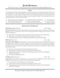 resume example culinary chef resume examples culinary resume skills 47 college of culinary resume chef resume objective