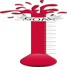 Image result for fundraising thermometer