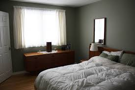 colours for a bedroom: before i personally love this paint colour for a bedroom but the dark saturated colour on the walls didnt show very well since there wasnt anything