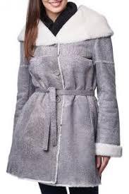<b>Дубленка Jean Guise</b> gray and white цвета 205_85_TN_USED__ ...