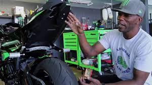 Jason Britton 2016 Kawasaki <b>ZX6R</b> Stunt Build - YouTube