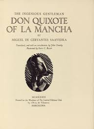 iconography of don quixote the ingenious gentleman don quixote of la