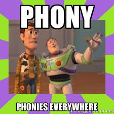 phony phonies everywhere - buzz lightyear meme | Meme Generator via Relatably.com