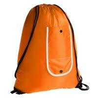 <b>Рюкзак</b> складной Unit Roll, <b>оранжевый</b> для нанесения логотипа ...