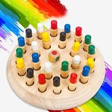 AIYYJ  bb <b>Memory Match</b> Stick Chess Game Toys <b>Color</b> Cognitive ...
