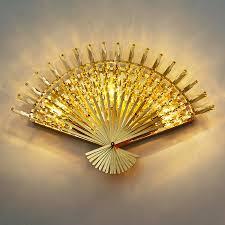 <b>led e14 Funky</b> Fan Shaped <b>Crystal</b> Stainless Steel <b>LED</b> Lamp <b>LED</b> ...