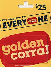 Golden Corral Gift Card $25: Gift Cards - Amazon.com
