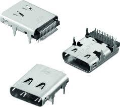 WR-COM <b>USB 3.1 Type C</b> Receptacle Horizontal THR / SMT ...