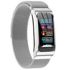 <b>AK12 Smart bracelet Color</b> Screen Waterproof Women's Watch ...