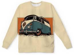 """Свитшот мужской с полной запечаткой """"<b>Volkswagen</b> T1 ..."""