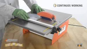 <b>Queen 180</b> - Compact Tile Saws - YouTube