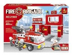 <b>Конструктор Ausini Пожарная</b> бригада 21602 — купить по ...