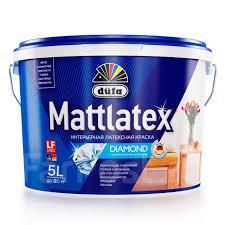 Водно-дисперсионная <b>краска dufa Mattlatex</b> - 10 л ...