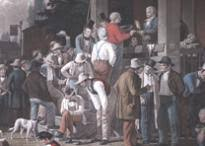 winning the vote  a history of voting rights   the gilder lehrman    the county election  based on a painting by george c  bingham