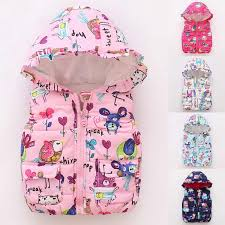 <b>Autumn Winter Warm Kids</b> Floral Vests Girls Cartoon Outerwear ...