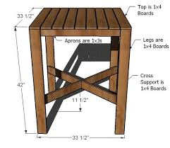 table bar height chairs diy: woodworking plans outdoor bar table plans free download outdoor bar table plans an outdoor pub table can be a great start in arranging a patio bar benches