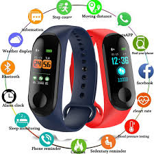 <b>M3 plus Smart</b> Band <b>Watch</b> Color Screen <b>Wristband</b> Heart Rate ...