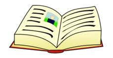 Image result for open book clip art color