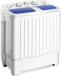 Giantex <b>Portable Mini</b> Compact <b>Twin</b> Tub <b>Washing Machine</b> 17.6 lbs