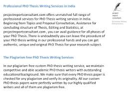 Dissertation Thesis Writing Services in Dubai SlideShare Professional PhD Thesis Writing     FAMU Online