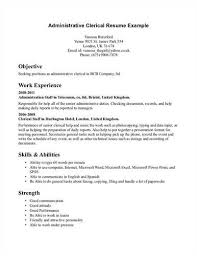 another administrative clerk resumeadministrative clerk resume and template format