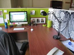 green mixed black white painted short divider combined with cherry f wood office desk added metal awesome black white office design