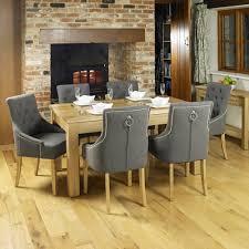 baumhaus mobel oak oak accent upholstered dining set baumhaus mobel oak upholstered dining chair