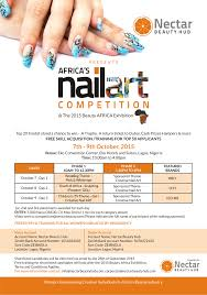 are you a nail technician or aspiring to be one improve your are you a nail technician or aspiring to be one improve your skills be empowered at the 2015 beauty africa exhibition