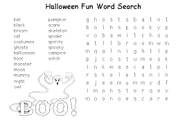 Small Picture Halloween Coloring Pages Word Searches Posted In Halloween Puzzles