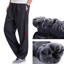 Grandwish <b>Men's Winter</b> Pants <b>Big size</b> Wool Inside <b>Winter</b> Warm ...