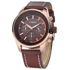 <b>CURREN</b> 8187 <b>Men's</b> Big Dial Casual Fashion Quartz Watch Sale ...