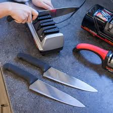 How to <b>Sharpen Kitchen Knives</b>