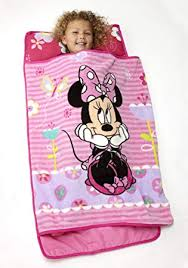 Disney Minnie Mouse Toddler Rolled Nap Mat, Sweet ... - Amazon.com
